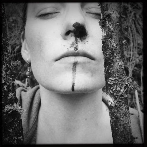 alchemical process photography bloody nose