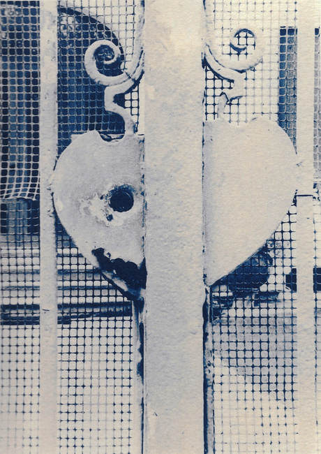 alchemical process photography cyanotype heart