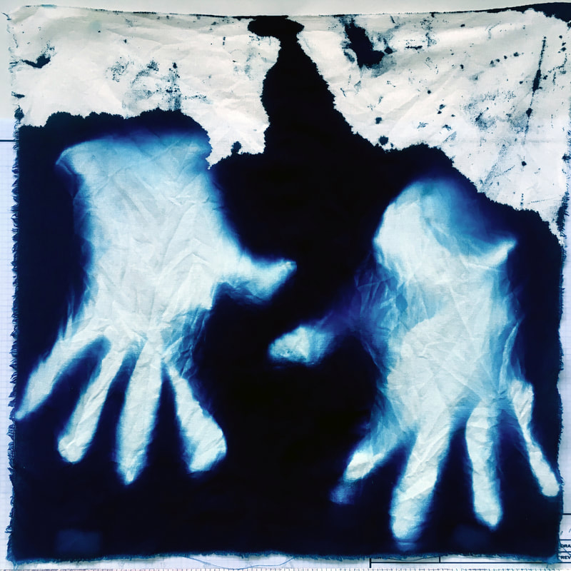 alchemical process photography cyanotype square foot