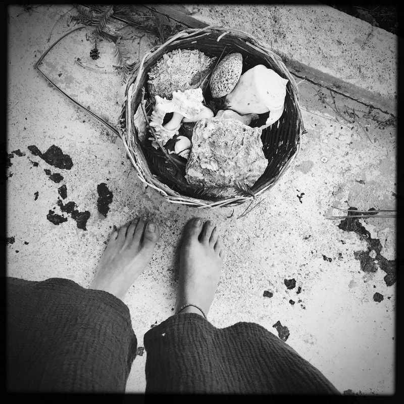 alchemical process photography feet